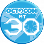 Octocon at 30 logo
