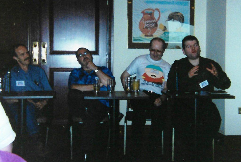 2001 - Ian Watson, Ian McDonald, Michael Carroll and John Vaughan
