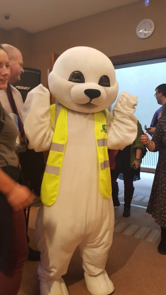 2017 - Seal Ireland Rescue mascot