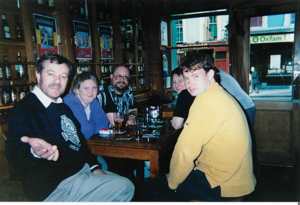 2001 - Wrap party