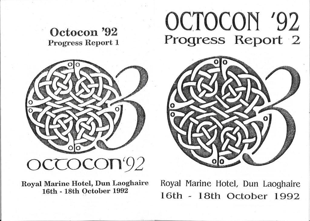 1992 - Octocon progress report covers